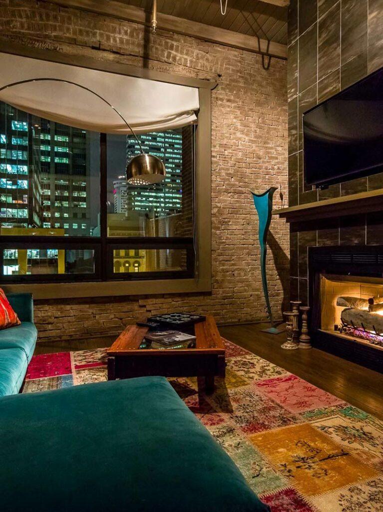 city loft penthouse