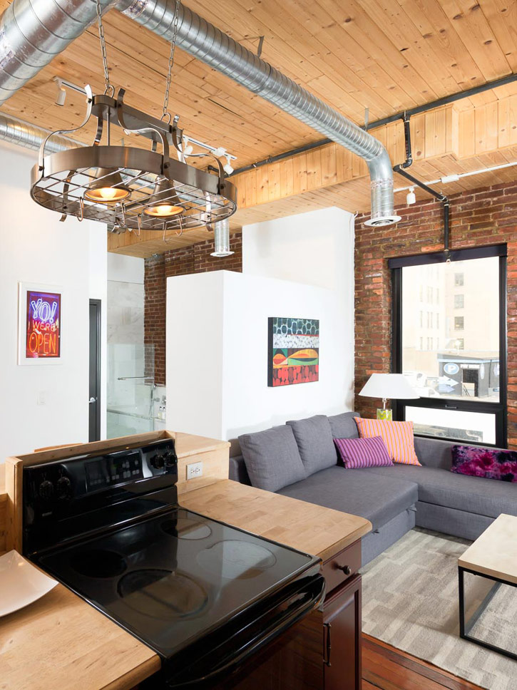 sleep with us properties studio loft nashville
