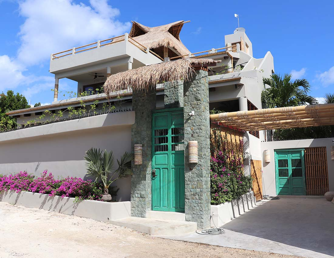 casa kamala isla mujeres mexico luxury rental
