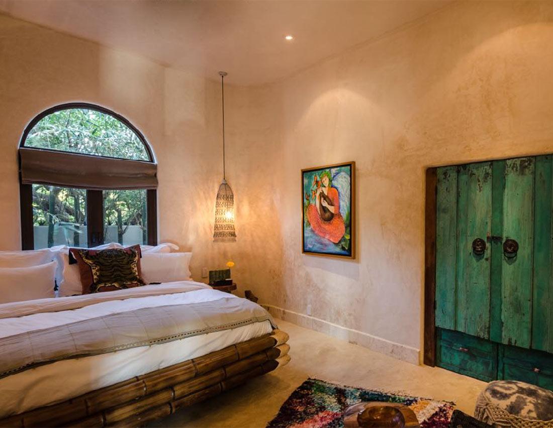 bamboo room casa kamala isla mujeres