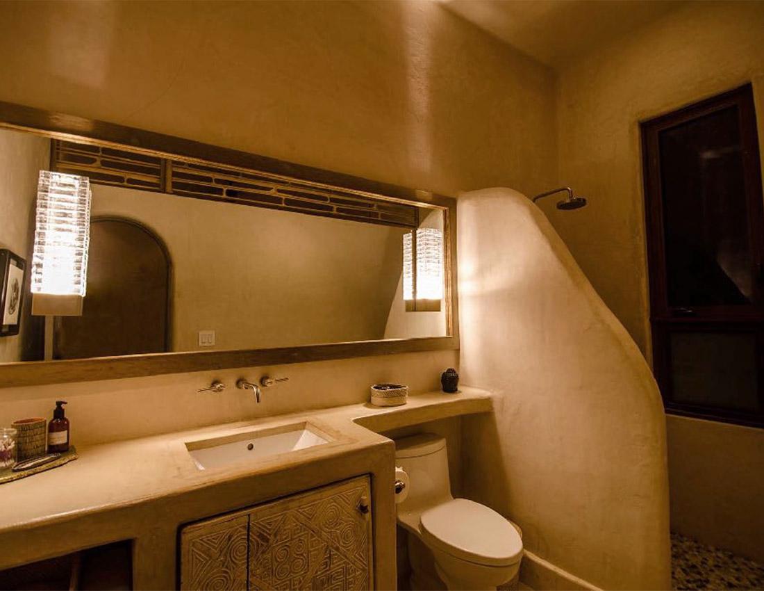 guest bath shower casa kamala isla mujeres