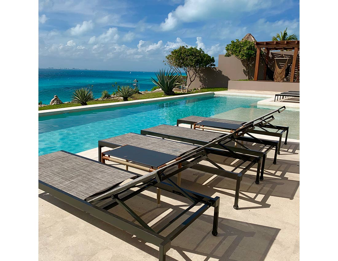 casa amarilla luxury properties isla mujeres pool