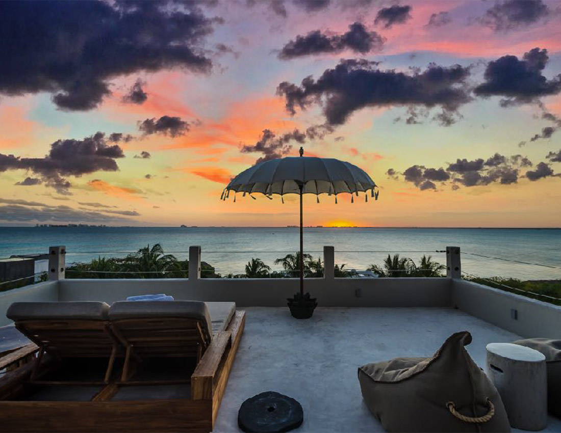 casa kamala sunset isla mujeres luxury rental