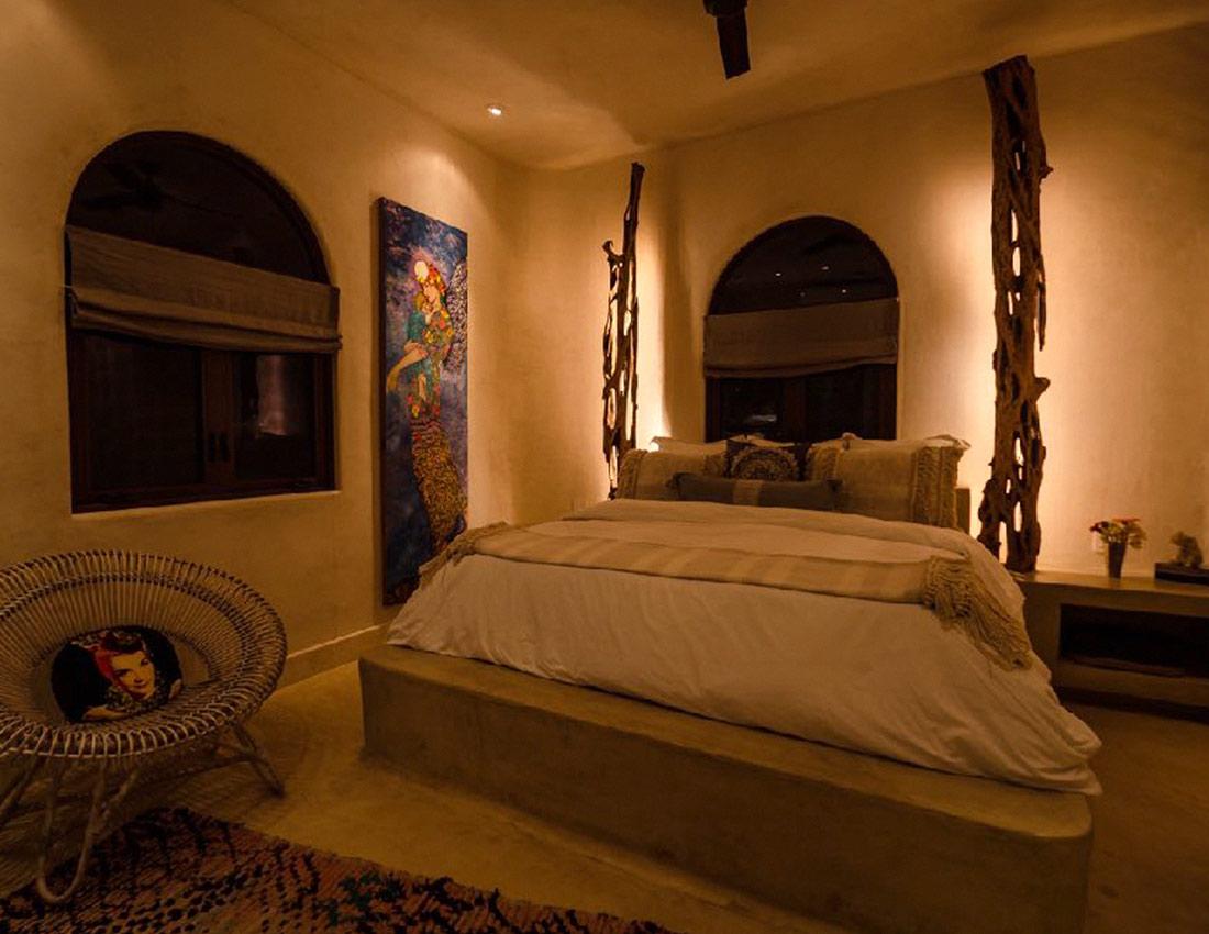 wood room casa kamala isla mujeres