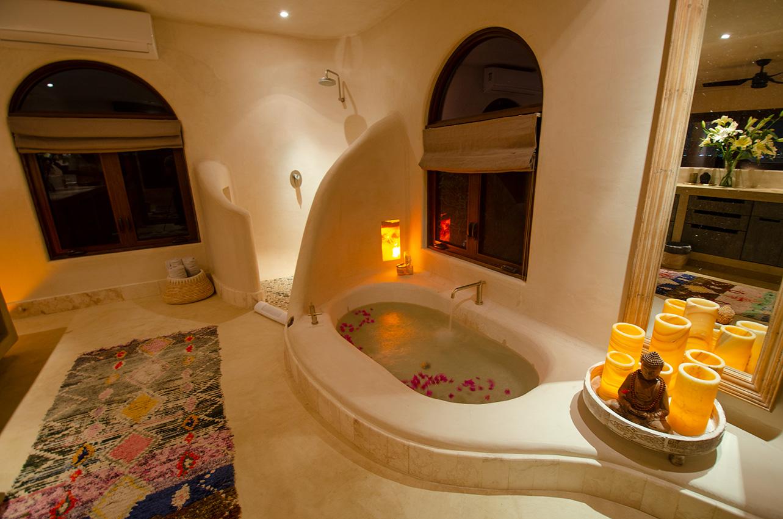 casa kamala master bathroom isla mujeres
