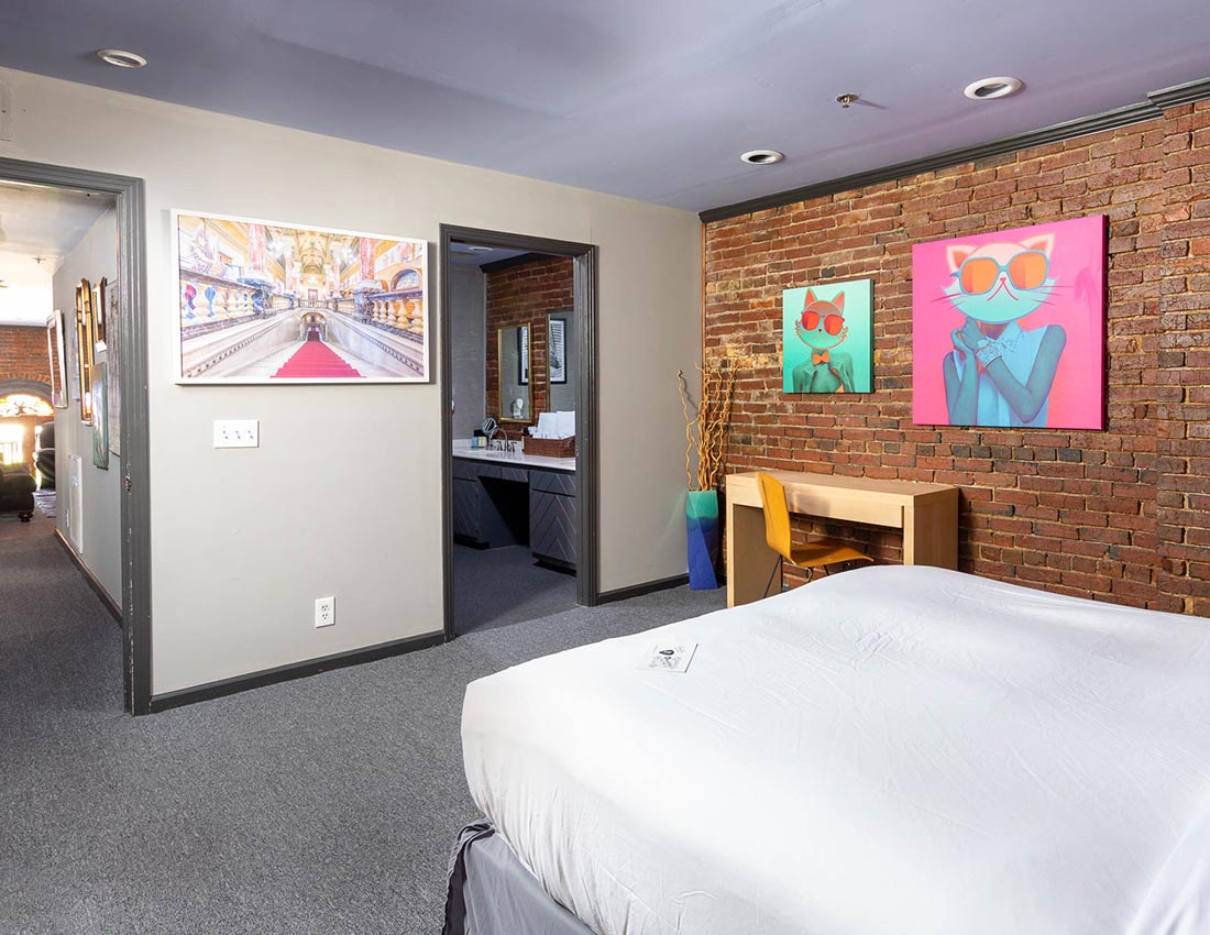 printers alley lofts deluxe penthouse