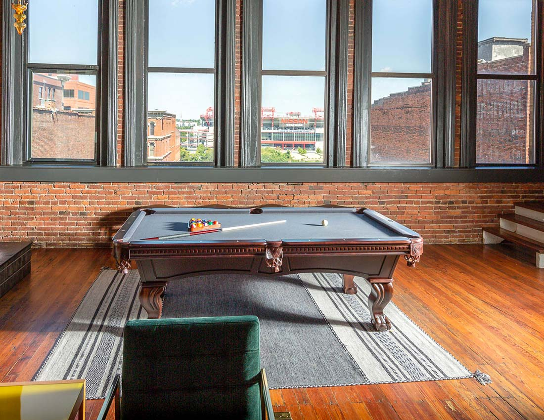 sleep with us printers alley lofts deluxe penthouse