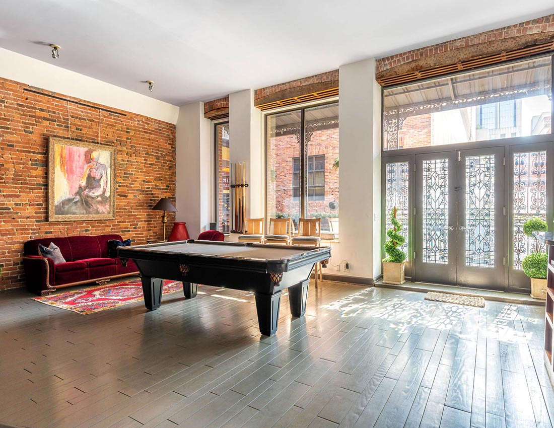 sleep with us printers alley lofts grand loft
